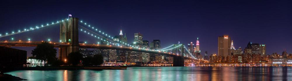 Скинали для кухни Нью-Йоркский мост, дизайн #06762