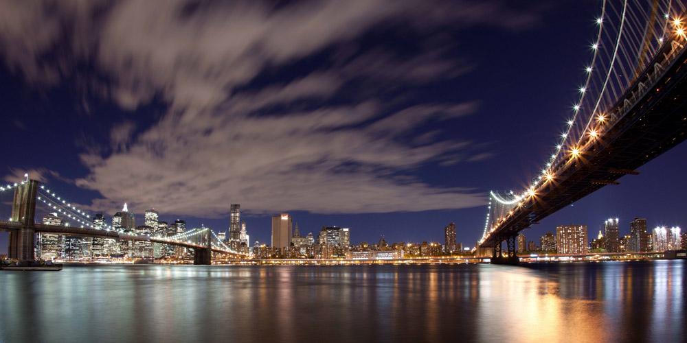 Скинали для кухни Мост Нью-Йорка, дизайн #06763