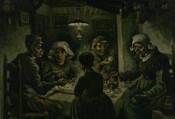 Ван Гог Едоки картофеля, дизайн #06798