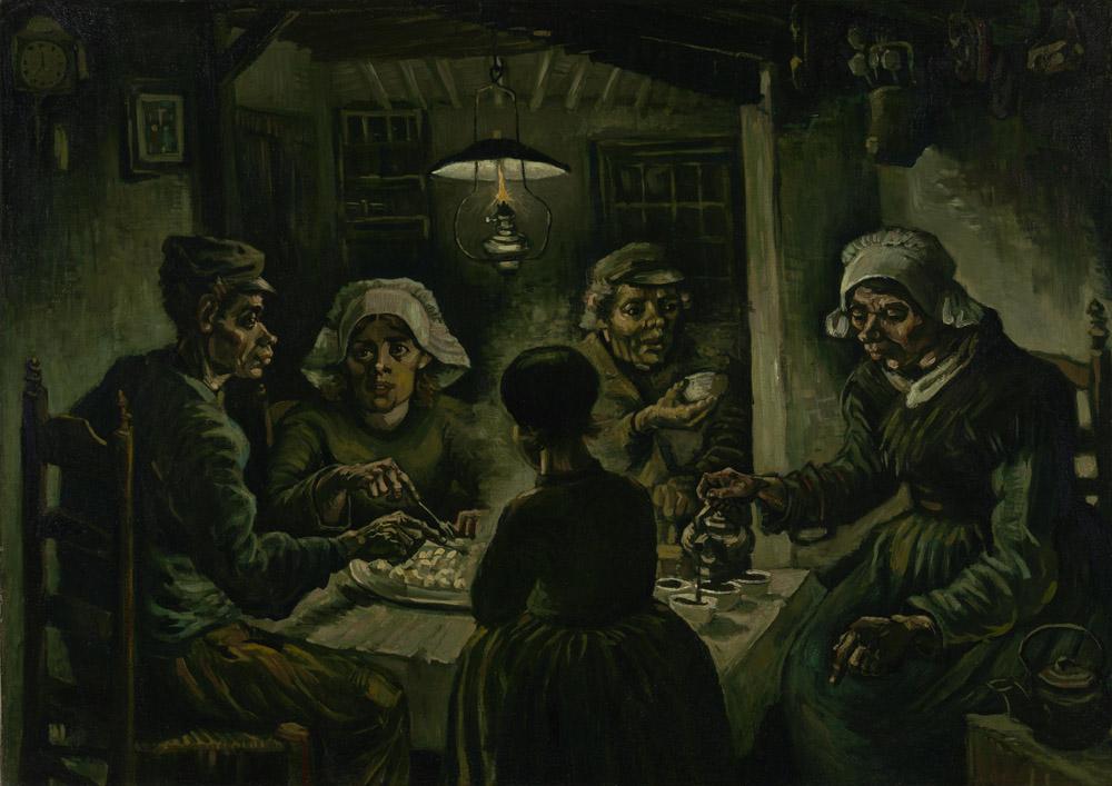 Рольшторы Ван Гог Едоки картофеля, дизайн #06798