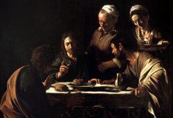 Караваджо Христос в Эммаусе, дизайн #06804