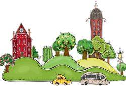 Сказочный город, дизайн #06831