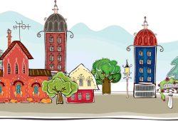 Сказочный город, дизайн #06832