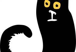 Кот, дизайн #06836