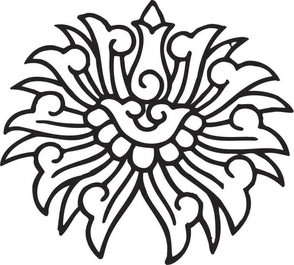 Наклейки Узор, дизайн #06873