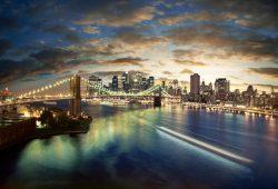 Мост Нью-Йорка, дизайн #06913