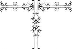 Пасхальный крестик, дизайн #06984