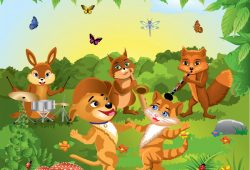 Веселые зверята, дизайн #07015