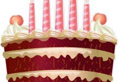 Праздничный торт, дизайн #07085