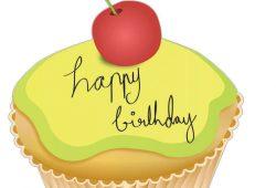 Кекс С Днем Рождения, дизайн #07092