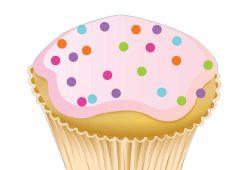 Кекс С Днем Рождения, дизайн #07094