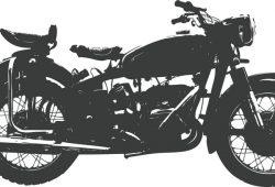 Мотоцикл, дизайн #07108