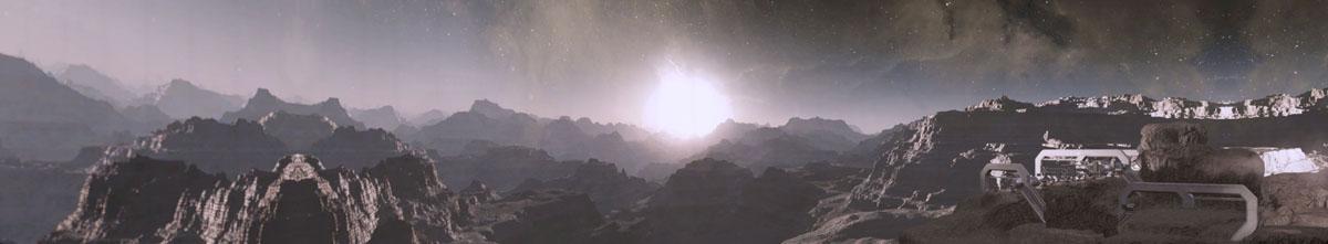 Инопланетный пейзаж, дизайн #07134