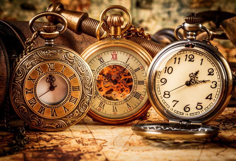 старинные часы фото