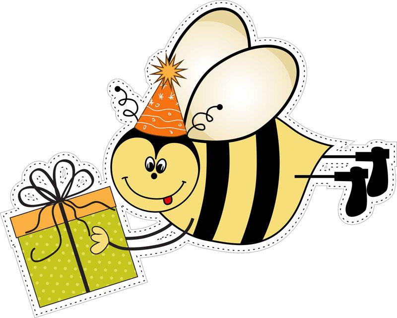 палочки поздравления с новым годом пчелки длинных