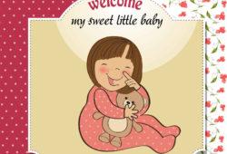 С Рождением малыша!, дизайн #07253