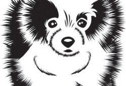 Собака, дизайн #07357