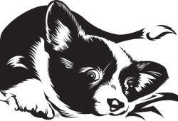 Собака, дизайн #07359