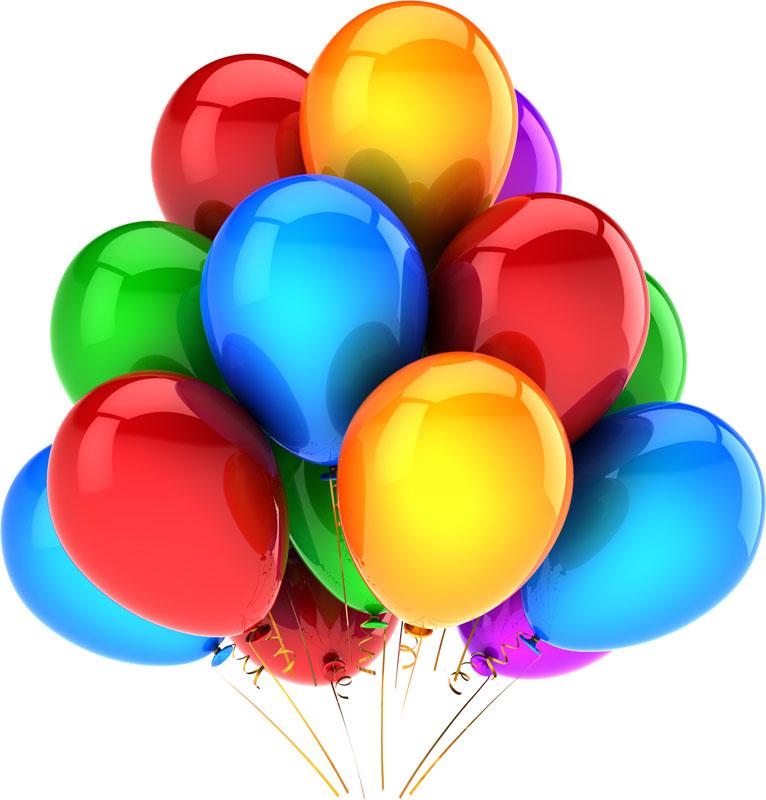 Воздушные шары, дизайн #07406