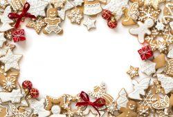 Новогоднее печенье, дизайн #07421