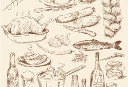 Любимые продукты, дизайн #07456