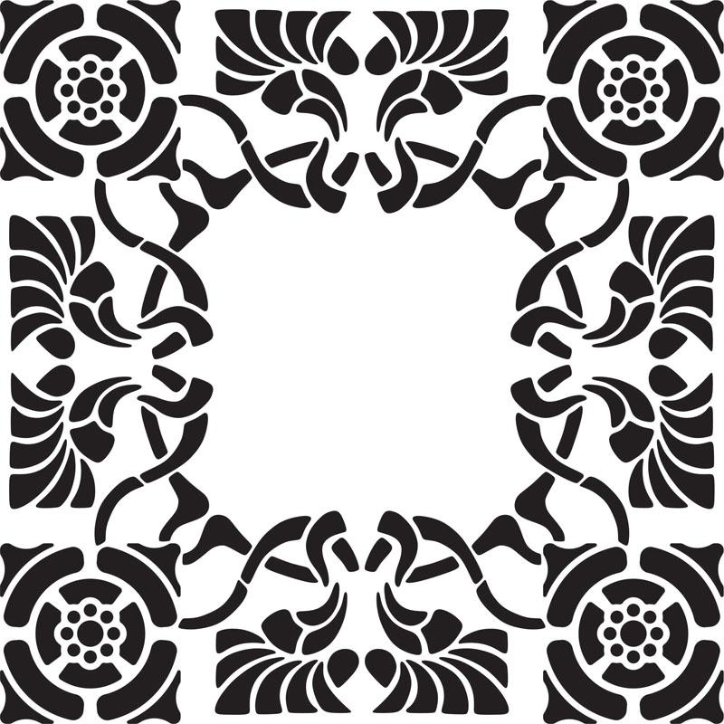 Наклейки Узор, дизайн #07517