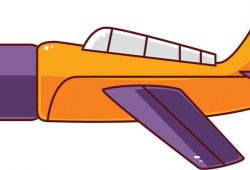 Самолет, дизайн #07523