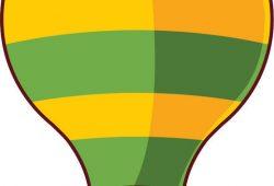 Воздушный шар, дизайн #07526