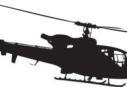 Вертолет, дизайн #07546