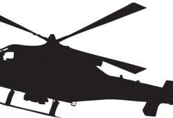 Вертолет, дизайн #07547