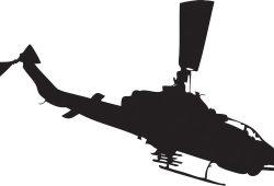 Вертолет, дизайн #07548