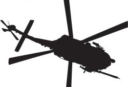 Вертолет, дизайн #07549