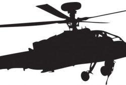 Вертолет, дизайн #07552