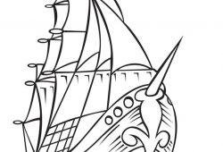 Корабль, дизайн #07554