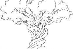 Дерево, дизайн #07557