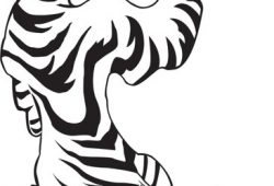 Тигр, дизайн #07562