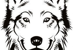 Волк, дизайн #07693