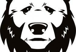 Медведь, дизайн #07694