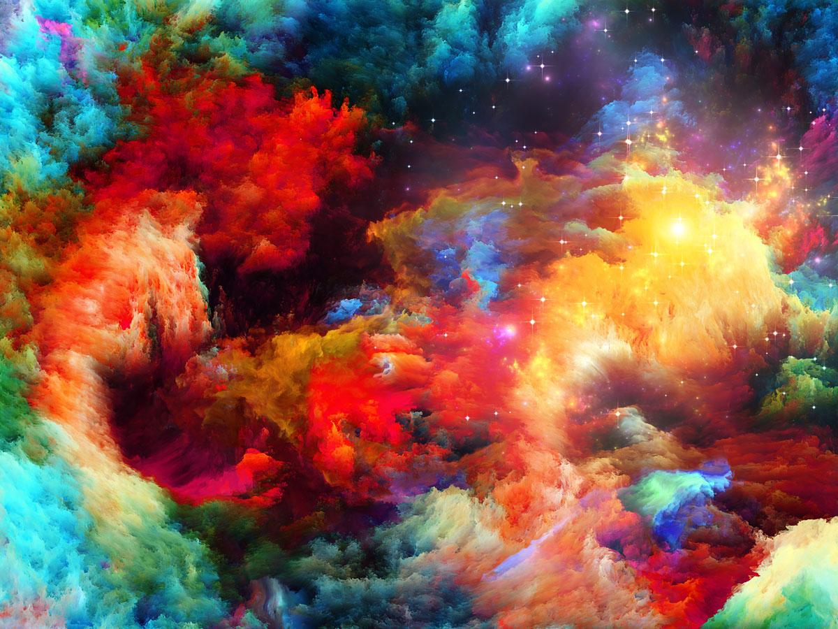Яркий космос, дизайн #07723