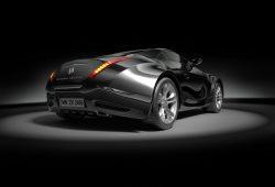 Черный автомобиль, дизайн #07735