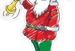 Санта-Клаус, дизайн #07798