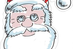 Санта-Клаус, дизайн #07800