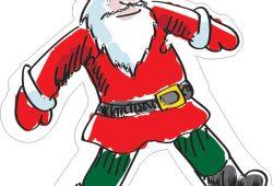 Санта-Клаус, дизайн #07801