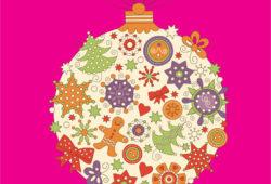 Елочная игрушка, дизайн #07829