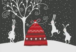 С Рождеством и Новым годом!, дизайн #07830