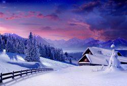 Зимний пейзаж, дизайн #07881