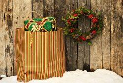 Новогодние подарки, дизайн #07908