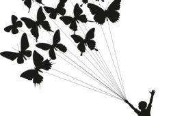 Бабочки, дизайн #07965