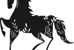Лошадь, дизайн #07970