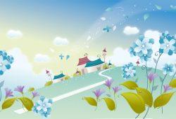 Сказочный пейзаж, дизайн #07996